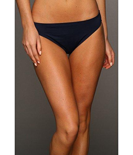 - Michael Kors Women's Solid Classic Bottom Stripe Navy Sm