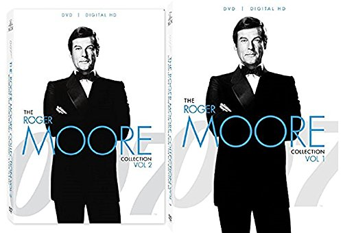 Roger Moore 007 Collection James Bond DVD Volume 1 & 2 Moonraker, Octopussy, View to a Kill + 7 Movie Set (Maud Adams A View To A Kill)