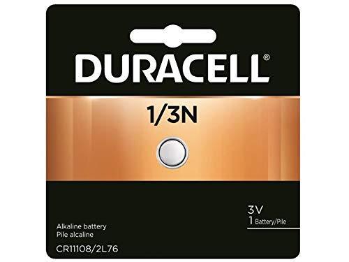 Duracell DL1/3N CR1/3N 2L76 5018LC 5008LC CR11108 K58L 3V Lithium Battery
