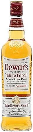 DEWAR'S WHITE LABEL BLENDED SCOTCH WHISKY 70 CL
