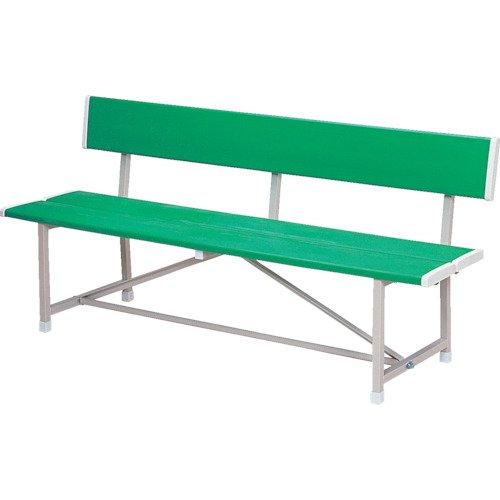 ベンチ(背付) 緑 RBA-1500 GN B0037O3954