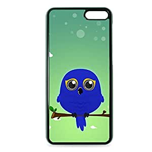 Case Fun Case Fun Hyacinth Macaw Parrot by DevilleART Snap-on Hard Back Case Cover for Amazon Fire Phone