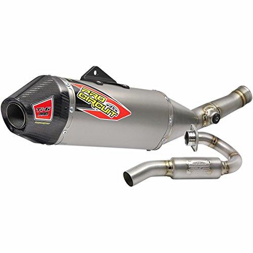 17 KX450F Pro Circuit Ti-6 Pro Titanium Exhaust System with Carbon End Cap Kawasaki