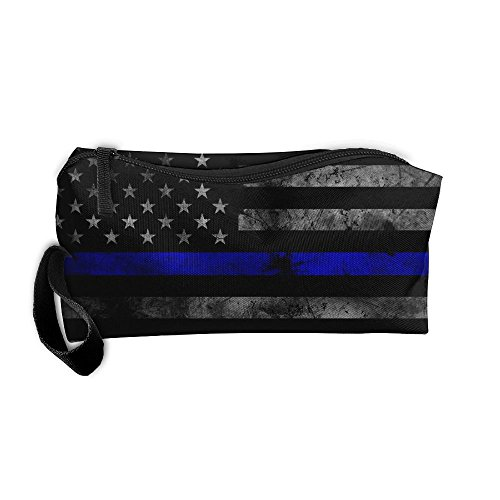 Thin Blue Line Portable Travel Cosmetic Bag Toiletry Bag Mini Makeup Bag Organizer Handbag For Women & - Sunglasses Uk Penguin