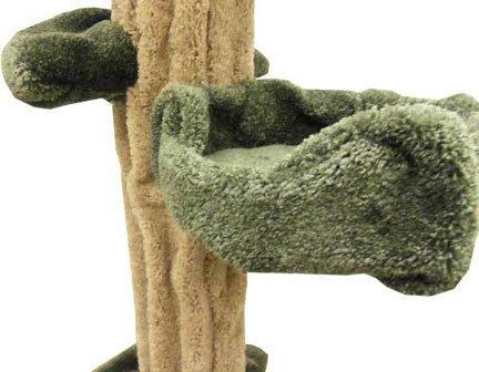 Wooden Large Cat Tee Sculpture Cat Tower
