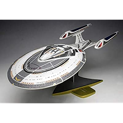 AMT U.S.S. Enterprise 1701-E 1:1400 Scale Model Kit: Toys & Games