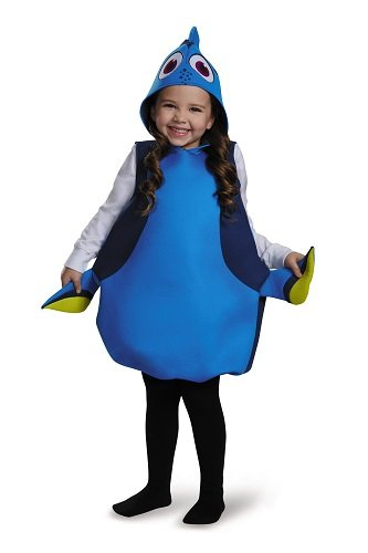 Disguise Dory Classic Finding Dory Disney/Pixar Costume, One Size Child, One Color
