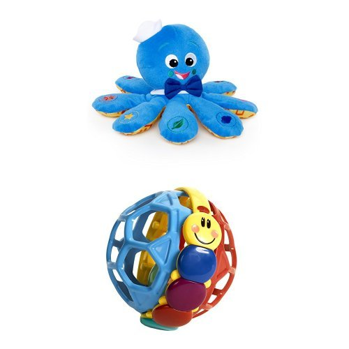 Baby EinsteinOctoplush Plush Toy & Baby Einstein Bendy Ball