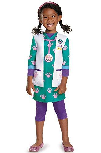 Disguise Doc McStuffins Pet Vet Classic Toddler/Child Costume-