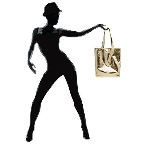 Doré de Sac Sac pour TS1047 shopping de cours CASPAR métallisé femme qvSE50