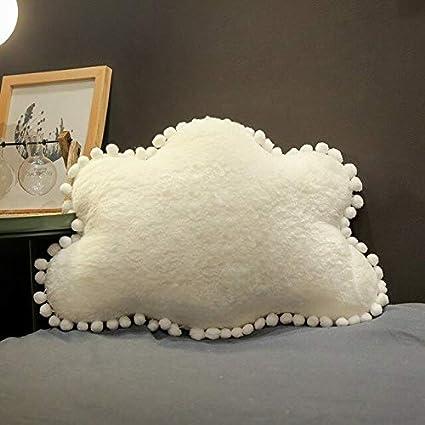 baiyinlongshop Sky Series Cloud Moon Star Crown Almohada De ...