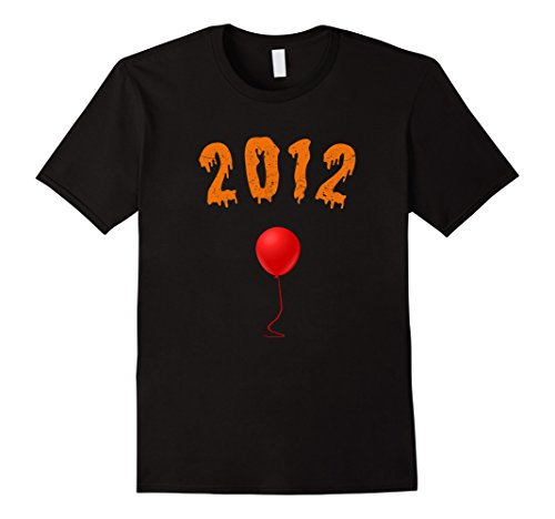 Mens Halloween Shirt For Born In 2012 5th Birthday Shirt Age 5 Small Black