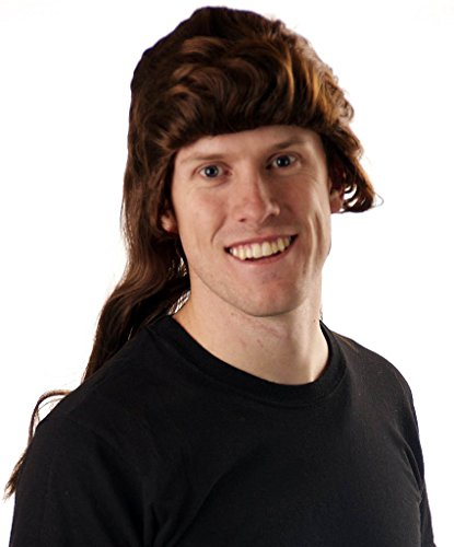 Halloween Costume Joe Dirt (My Costume Wigs Men's Joe Dirt Wig (Blond) One Size fits all)