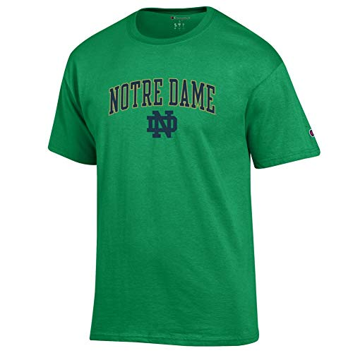 Elite Fan Shop Notre Dame Fighting Irish Tshirt Arch Kelly Green - XL