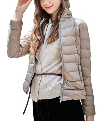 Yayu Women's Packabe Ultra Long Sleeve Down Coat Short for sale  Delivered anywhere in USA