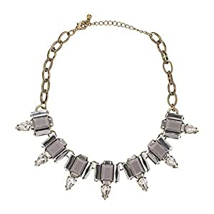 Just Showoff Women's Alloy Crystal Necklace