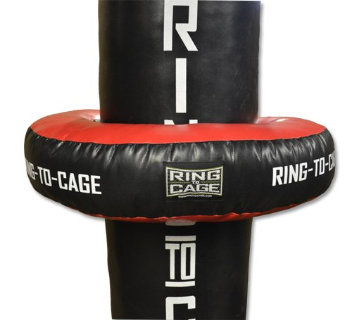 Punching bag Uppercut Ring/Donut - Filled. for Heavy Punching Bags by Ring to Cage