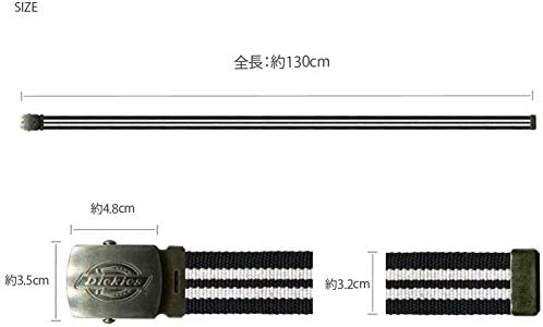 カラーライン GI ベルト ガチャベルト キャンバス 穴なし 32mm