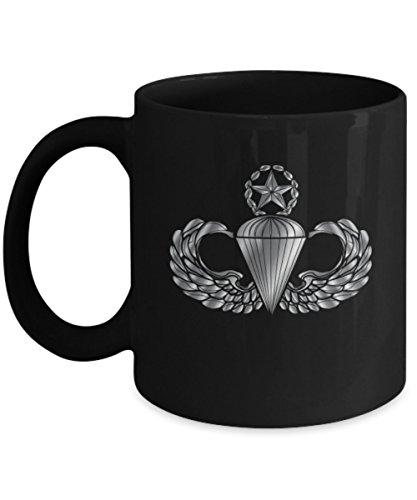 - Airborne Coffee Mug - Master Parachutist Badge