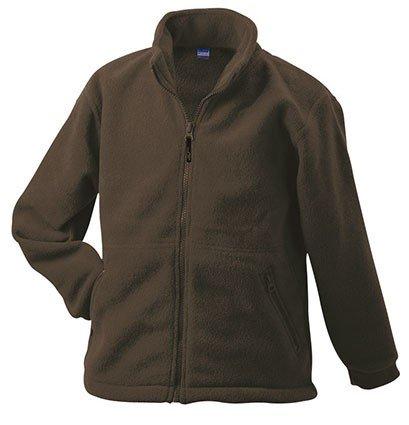 Kinder-Fleece Jacke - Gr: 98/104 - 156/164, Full-Zip