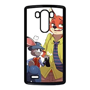 LG G3 cell phone cases Black Zootopia fashion phone cases YEH0740805