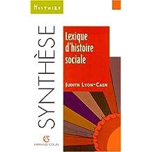 lexique d'histoire sociale (synthese)