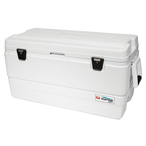 (Igloo Marine Ultra 954 Quart Cooler, White)