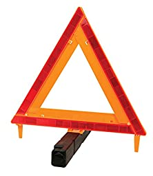 Performance Tool W1499 Large Early Warning Roadside Emergency Reflective Triangle (DOT Approved)