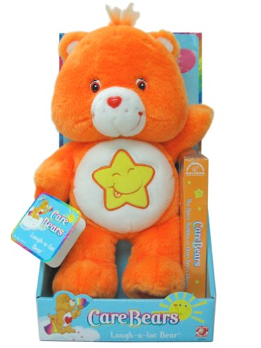Care Bears Laugh-A-Lot Bear with VHS Movie - Laugh A Lot Care Bear