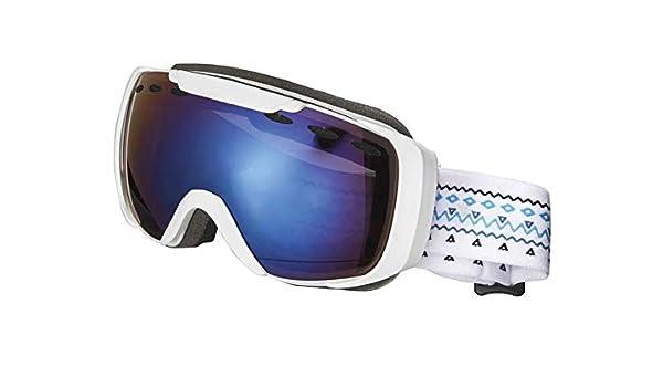 Crivit Sports Niños Gafas de esquí Snowboard Gafas de Nieve Gafas 100% protección UV, S3 Weiß: Amazon.es: Deportes y aire libre