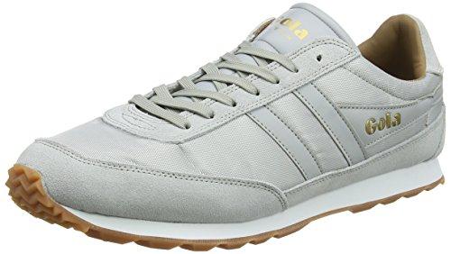 Gola Flyer Light Grey/Gum, Sneaker Uomo Grigio (Light Grey/Gum Light)