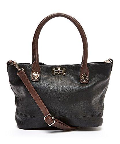Fraless Collection Roomy Turn-lock Closure Design Hobo Shoulder Handbag BH-1901