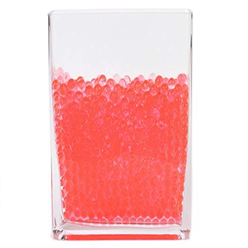 Event Decor Direct Small Aqua Terra Water Beads - Super Expanding Gel Vase Filler -Coral