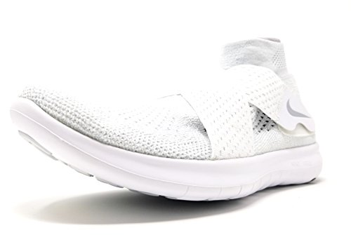 RN Flyknit Wolf Shoe pure Grey White Running Men's 2017 Platinum Free Nike BwptZExqW