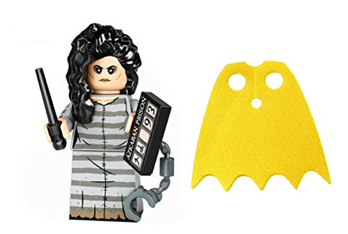 LEGO Harry Potter Series 2 Bellatrix and Shiny Yellow Batgirl Cape