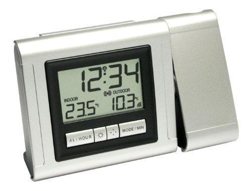 4 opinioni per Wetterladen 60.5006.54.IT- Sveglia radiocontrollata con proiezione dell'ora e