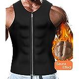 Men Sweat Vest Neoprene Sauna Slimming Tank Top Weight Loss Waist Trainer Shirt