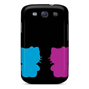 SPetry Case Cover For Galaxy S3 - Retailer Packaging Kitty Protective Case