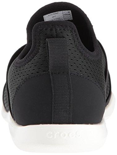 Femme Crocs White black Swiftwater strap Mules X Noir 066b wPqIPr