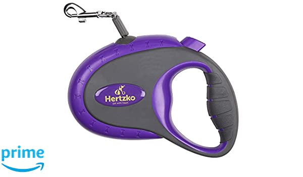 Great for Small /& Medium Dogs up to 44lbs Retractable Leash By Hertzko
