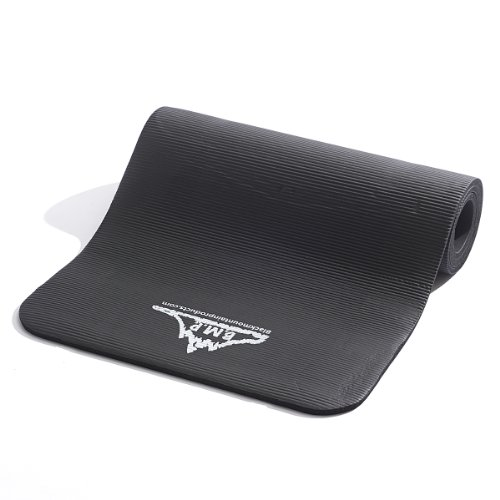 Black Mountain Products Yoga and Exercise Mat, 1/2 x 73 1/2