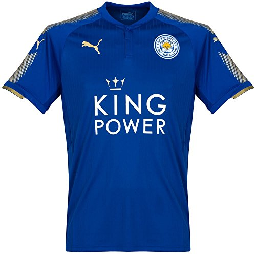 Puma Leicester City Home Jersey 2017/2018, Azul Royal