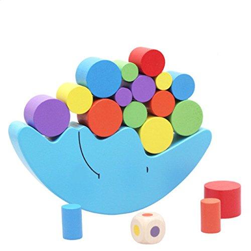 【ノーブランド品】キッズ ムーン バランス 木製 ブロック スタッキング おもちゃ 赤ちゃん 子供 早期教育 玩具 贈り物の商品画像