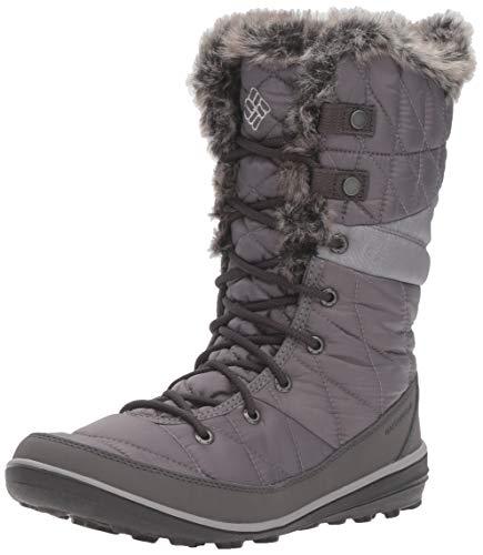 Columbia Women's Heavenly Omni-Heat Snow Boot, Quarry, Dove, 8 Regular US