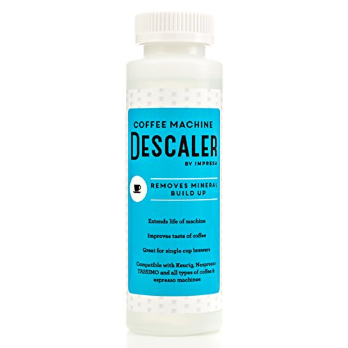 Descaler  2 Uses Per Bottle    Made In The Usa   Universal Descaling Solution For Keurig  Nespresso  Delonghi And All Single Use Coffee And Espresso Machines