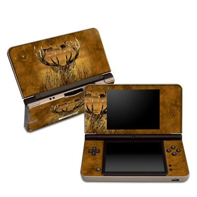 Hiding Buck Design Protective Decal Skin Sticker (Matte Satin Coating) for Nintendo DSi XL Game Device by MyGift