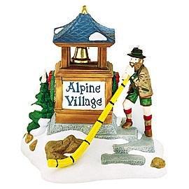 Dept 56 Alpine Village ** Alpenhorn Player ** (56182)