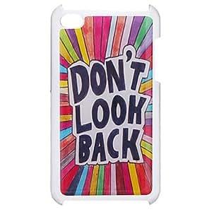 """""""No mires atrás"""" Caso duro del patrón de epoxy para el iPod Touch 4"""