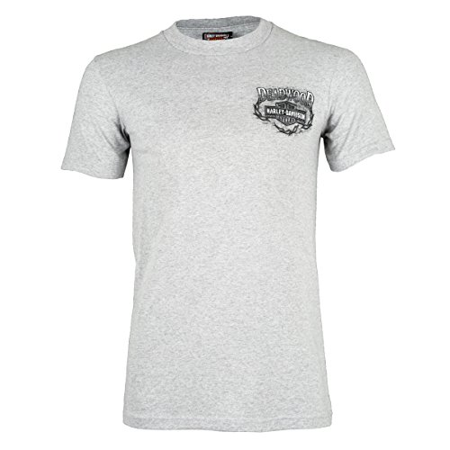 Harley-Davidson Deadwood Pin Up T-Shirt (4XL, Steel Heather Grey)