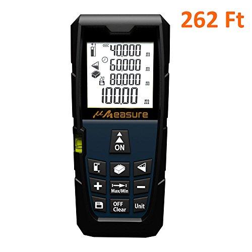 Laser Measure ft Measuring Tape - uMeasure MS-80A 262 Ft ...